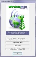 PassMark WirelessMon Professional 4.0 build 1009 [+Keygen] screenshot