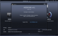 HDDScan 4.1 screenshot