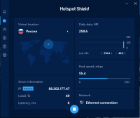 Hotspot Shield VPN Premium 9.21.1 [Rus + Patch] screenshot